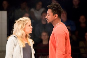 Denise Gough (Emma), Nathaniel Martello-White (Mark) People,Places&Thins by JohanPersson