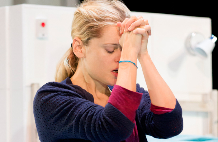 Denise Gough in People, Places and Things at Wyndham's Theatre. Photo: Johan Persson