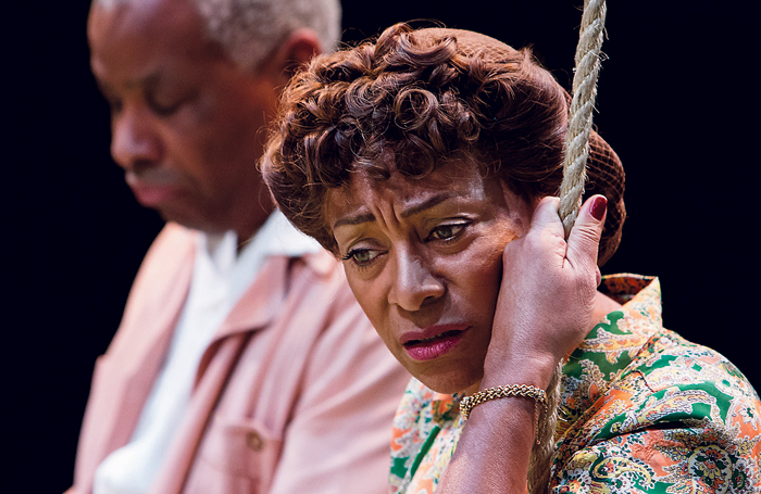 Don Warrington and Dona Croll in All My Sons, 2013. Photo: Jonathan Keenan