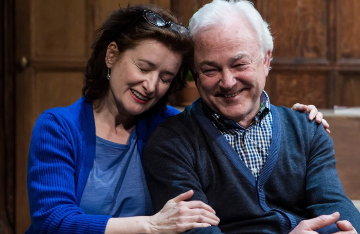 Angela Clerkin and Michael Fenton Stevens i Every One at Battersea Arts Centre. Photo: Richard Davenport