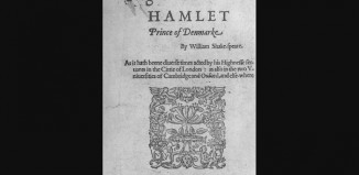 The frontispiece of the First Quarto of Hamlet