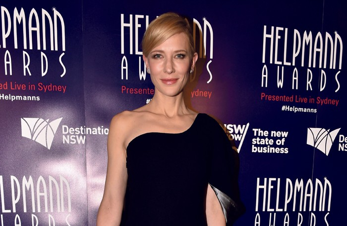Cate Blanchett attends Australia's Helpmann awards. Photo: Jim Lee