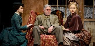 The cast of Hobson's Choice at Theatre Royal Bath. Photo: Nobby Clark