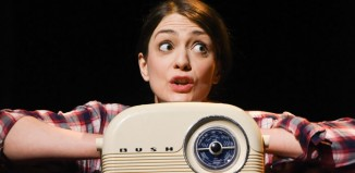 Joanna Simpkins in Kinny at Derby Theatre. Photo: Robert Day