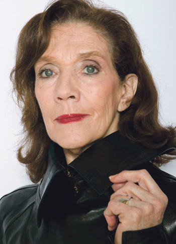 Linda Marlowe, who stars in the Charing Cross Theatre's revival