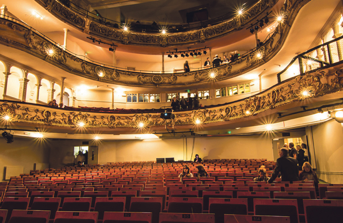 New Theatre Royal Portsmouth's auditorium