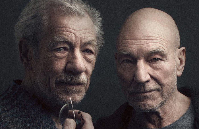 Patrick Stewart and Ian McKellen previously starred in No Man's Land on Broadway in 2014. Photo: Luke Fontana