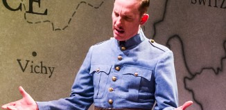 Laurence Fox in The patriotic Traitor at the Park Theatre. Photo: Tristram Kenton