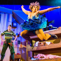 Peter Pan Goes Wrong. Photo: Tristram Kenton