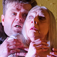 Felicity Palmer with Peter Hoare in The Queen Of Spades. Photo: Tristram Kenton