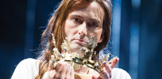 David Tennant in Richard II. Photo: Tristram Kenton