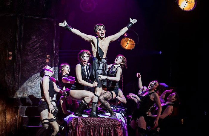 Students at the Royal Conservatoire of Scotland perform Cabaret. Photo: RCS
