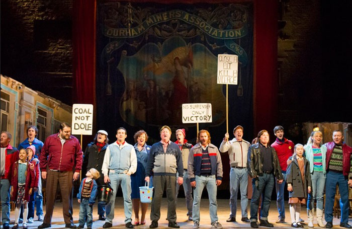 The West End production of Billy Elliot will close after 11 years on April 9. Photo: Alastair Muir