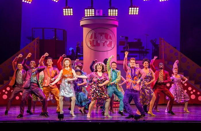 The cast of Hairspray. Photo: Ellie Kurttz
