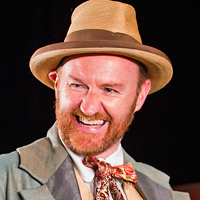 Mark Gatiss in Three Days in the Country. Photo: Tristram Kenton