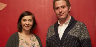 Vicky Featherstone and Brad Birch. Photo: William Douglas