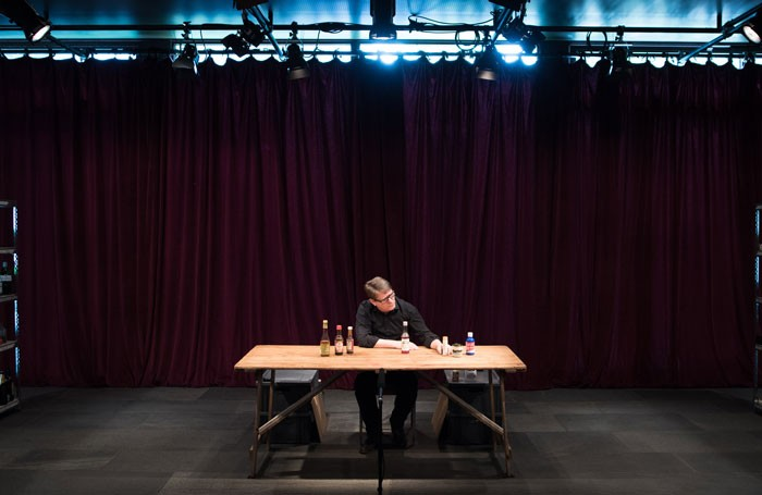 Complete Works: Table Top Shakespeare at the Pit, Barbican Centre, London. Photo: Hugh Glendinning