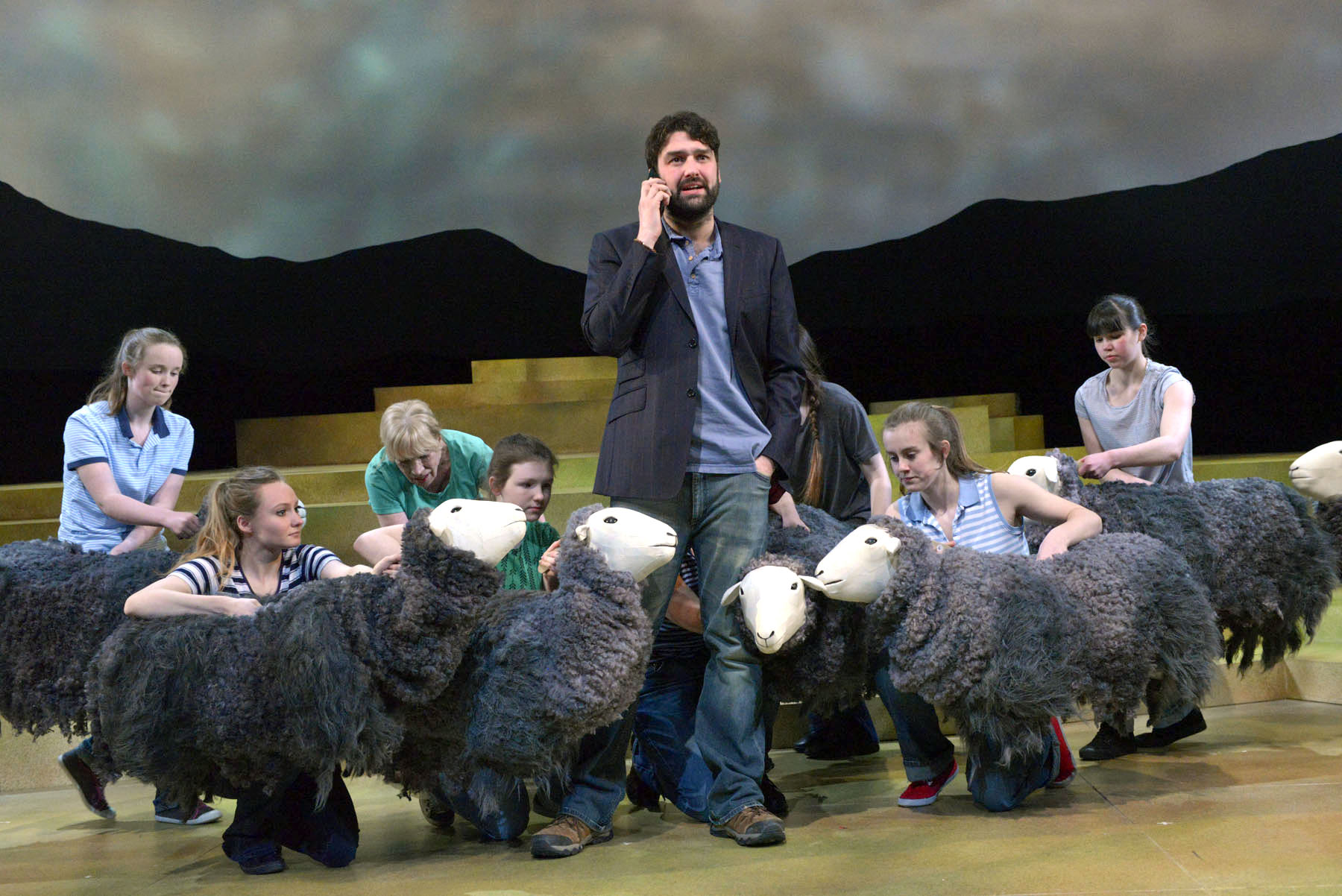 The Shepherd's Life at Theatre by the Lake, Keswick. Photo: Keith Pattison
