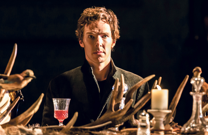 Benedict Cumberbatch in the National Theatre's Hamlet, which was streamed live in 2015. Photo: Johan Persson