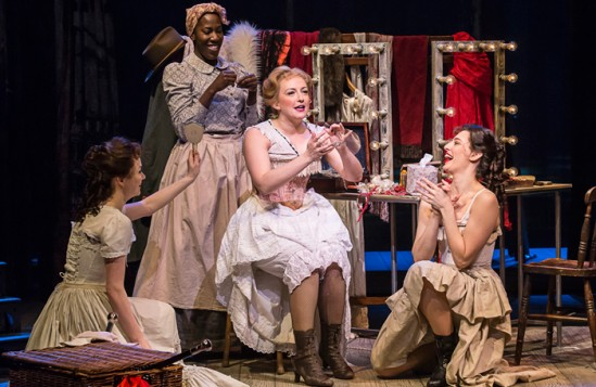 Alex Young (centre) in Show Boat at the New London Theatre. Photo: Johan Persson