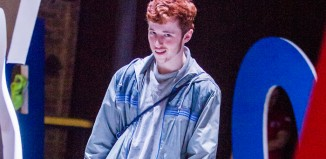 Frankie Fox in Boy at the Almeida Theatre. Photo: Tristram Kenton