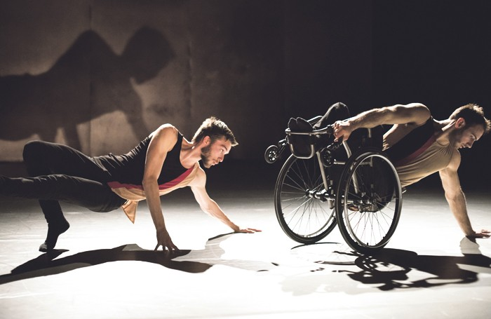 Candoco Dance Company's Beheld. Photo: Hugo Glendinning