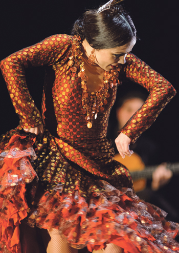 Olga Pericet in Pisasas at Sadler's Wells, London. Photo: Paco Villalta