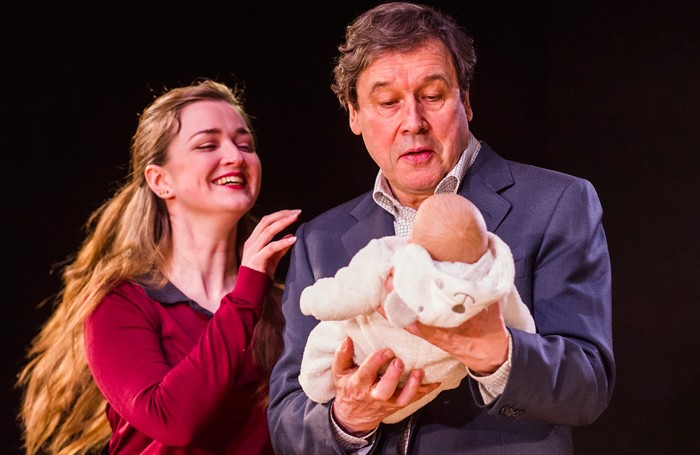 Amy Molly and Stephen Rea in Cyprus Avenue at the Royal Court. Photo: Tristram Kenton