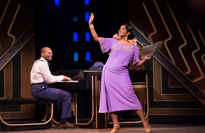 Brandon Victor Dixon and Audra McDonald in Shuffle Along at Music Box Theatre, New York. Photo: Julieta Cervantes