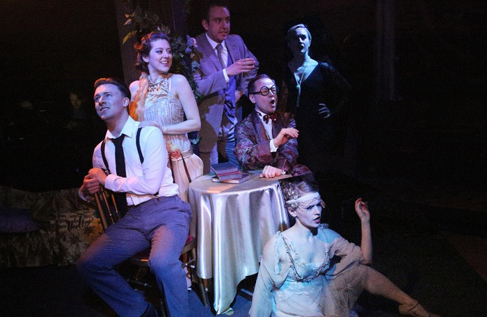 The cast of Gatsby at Union Theatre, London. Photo: Roy Tan