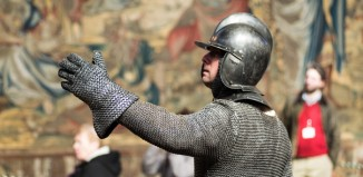 Scene from Encounters with the Past at Hampton Court Palace. Photo: Yves Salmon