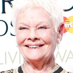 Judi-Dench,-Winner-Of-The-Olivier-Award-For-Best-Actress-In-A-Supporting-Role-For-The-Winters-Ta
