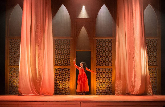 Mona Goodwin in Laila – The Musical at Watford Palace Theatre. Photo: David Fisher