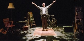 Richard Medrington in Leaf by Niggle at Festival Theatre, Edinburgh. Photo: Brian Hartley