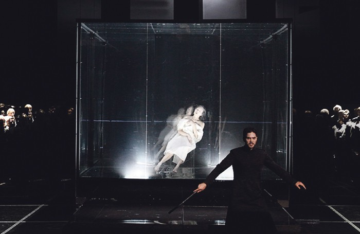 Apocalypsis at Toronto's Luminato Festival in 2015, directed by Lemi Ponifasio. Photo: MAU