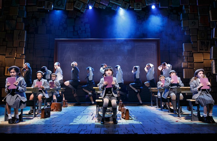 A scene from Matilda the Musical on Broadway. Photo: Joan Marcus