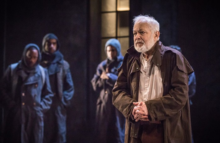 Michael Pennington in King Lear at the Royal and Derngate, Northampton. Photo: Marc Brenner
