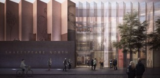 Planned exterior of Shakespeare North