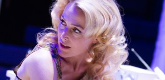 Gillian Anderson in A Streetcar Named Desire at the Young Vic. Photo: Tristram Kenton