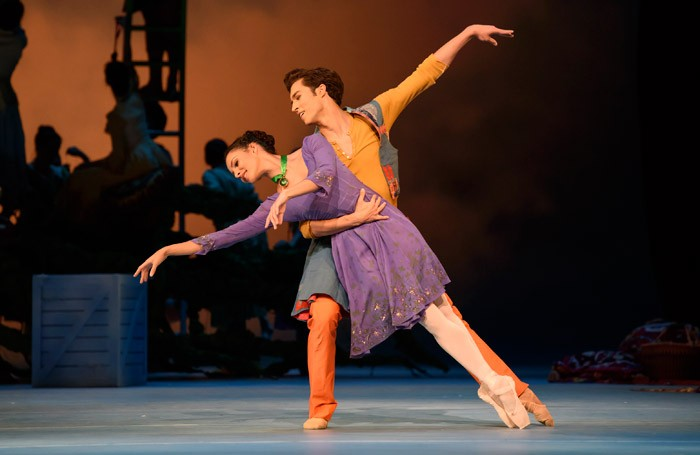 Francesca Hayward and James Hay in The Winter's Tale at Royal Opera House, London. Photo: Bill Cooper