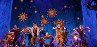The company of Tuck Everlasting at Broadhurst Theatre, New York. Photo: Joan Marcus