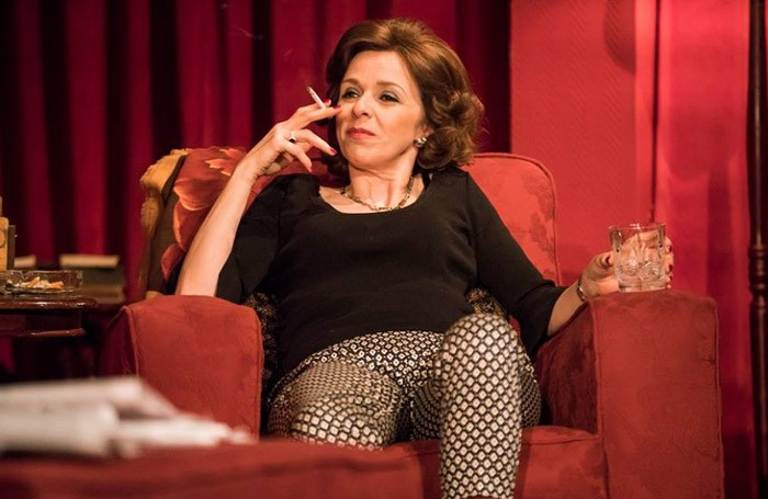 Fiona Bell in Who's Afraid of Virginia Woolf? at Gate Theatre, Dublin. Photo: Pat Redmond