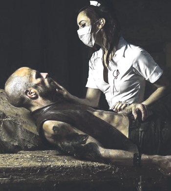 Mark Bruce Company's production of The Odyssey at Wilton's Music Hall, London. Photo: Nicole Guarino
