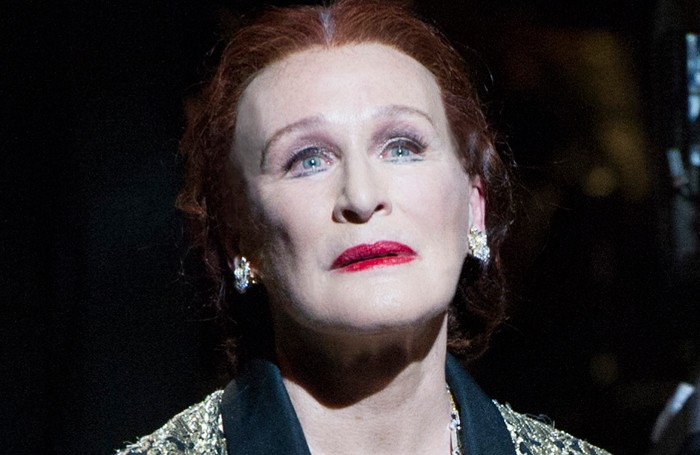 Glenn Close in Sunset Boulevard. Photo: Richard Hubert Smith
