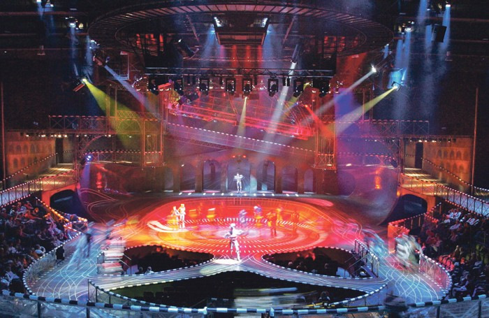 Bochum's 1,650-seat Starlight Express Theater.