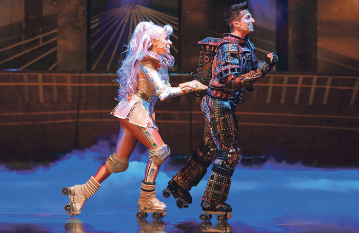Performers in Bochum's Starlight Express. Photo: Jens Hauer/Starlight Express