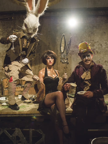 Alice's Adventures Underground at the Vaults is one of the shows Johnson has invested in. Photo: Jane Hobson