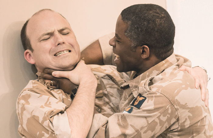 Kinnear and Adrian Lester in the National's 2013 production of Othello. Photo: Johan Persson