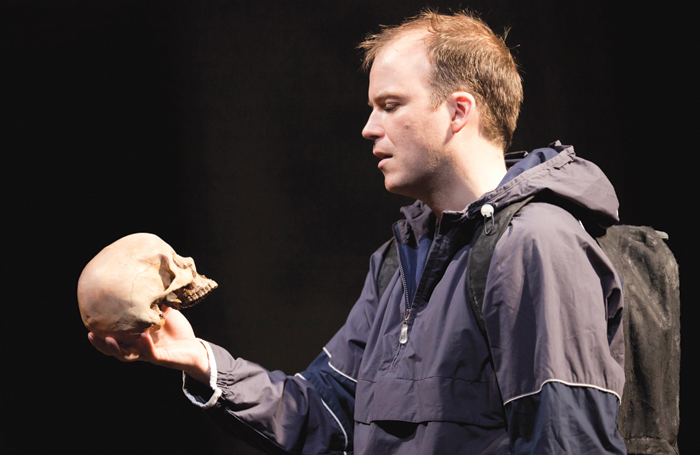 Rory Kinnear in Hamlet, National Theatre (2010). Photo: Johan Persson
