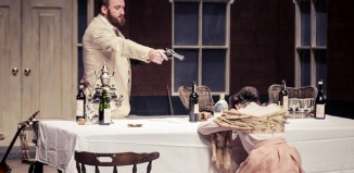 Scene from Chekhov's First Play at Bristol Old Vic.
